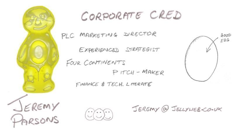 Corporate Credibility (and all-round Good Egg)