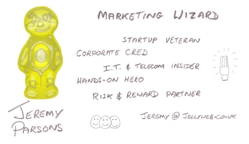 Jeremy the Marketing Wizard - Can't see the picture? Sorry, it's an image-only site! Please call back from another browser.